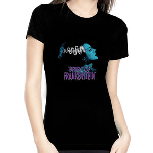 Blue Bride of Frankenstein Women's Tee