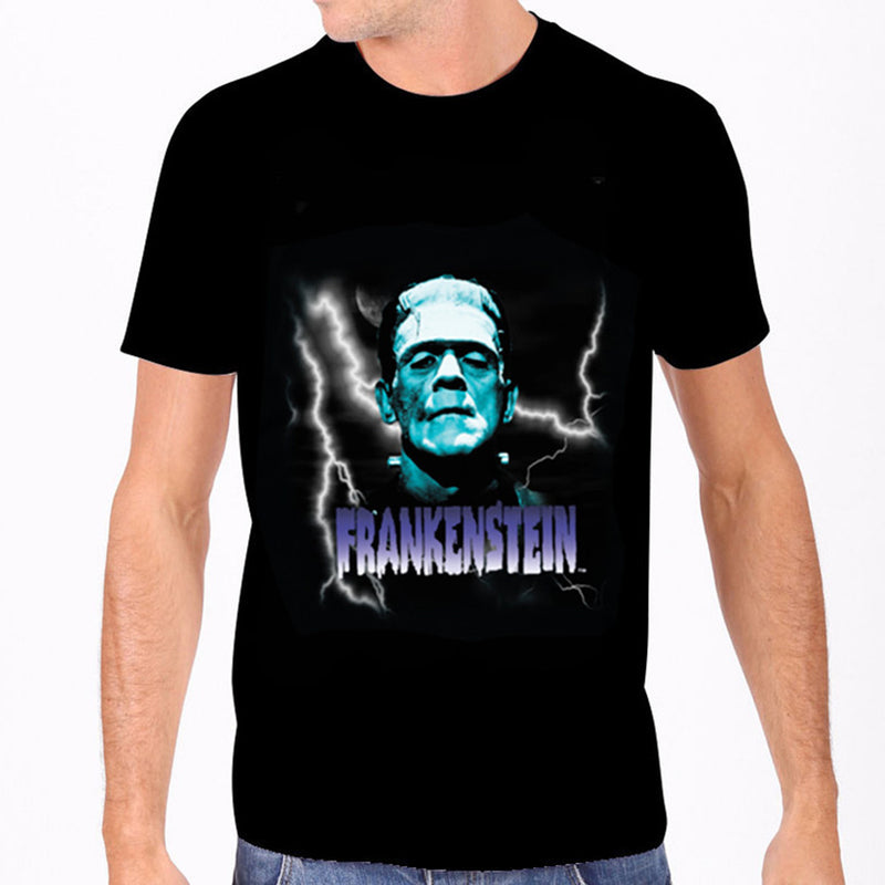 Blue Frankenstein Men's Tee