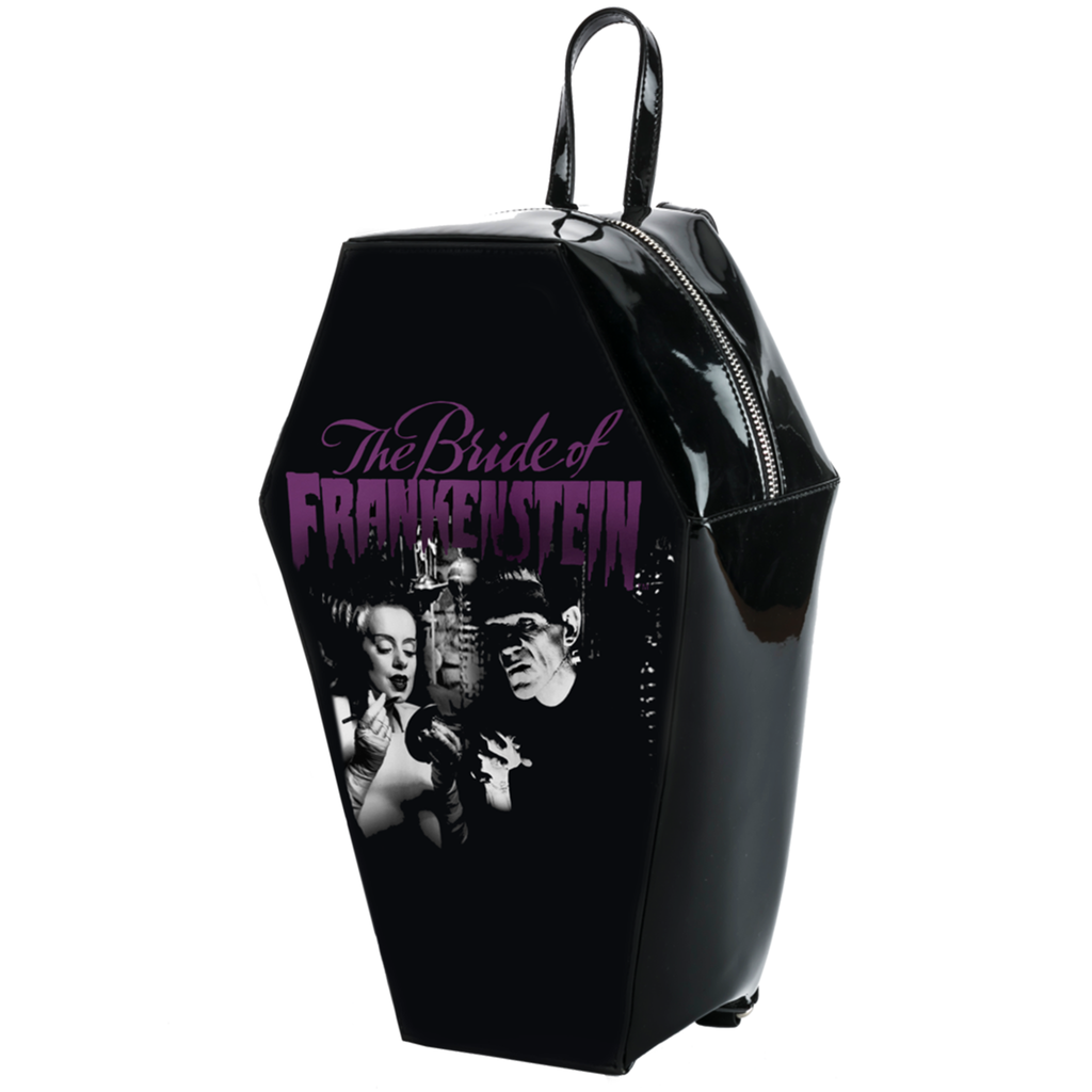 Bride Gets Ready Coffin Backpack