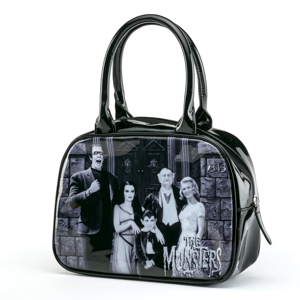 Munsters Family Bowler Handbag