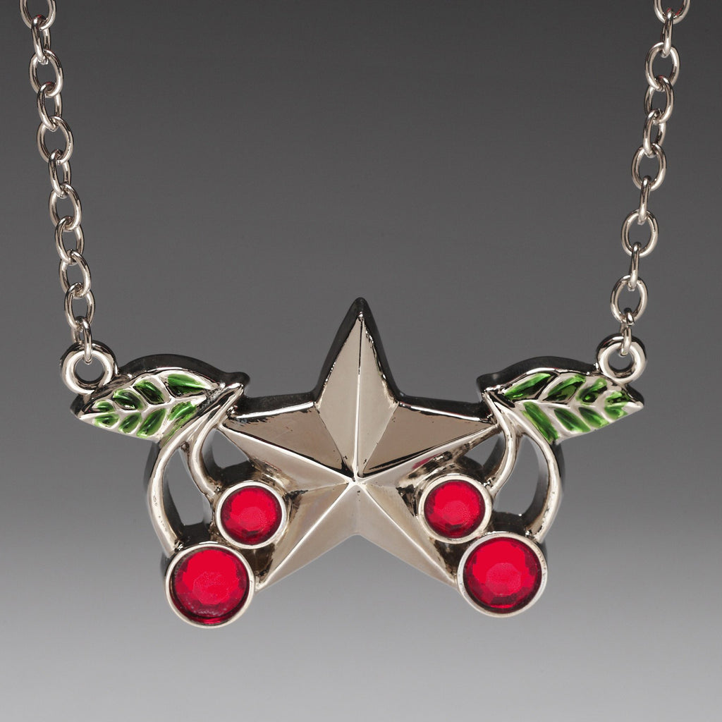 Cherry Star Pendant