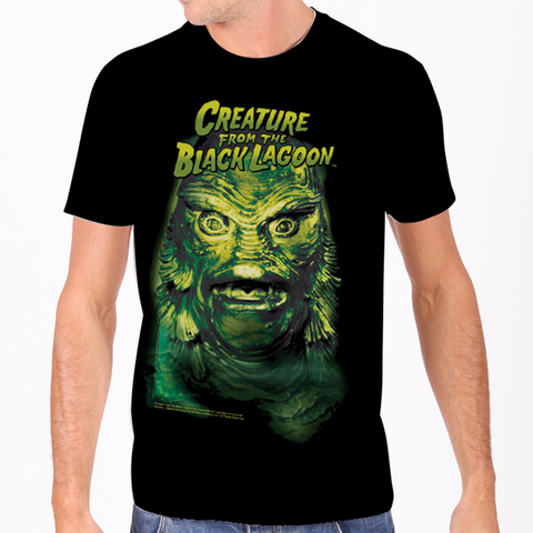 creature from the black lagoon men's tee universal monsters rock rebel hot topic too fast sourpuss goth punk classic horror skateboard