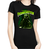 Frankenstein Electric Chair Womens Tee
