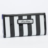 Edward Scissorhands Striped Wallet
