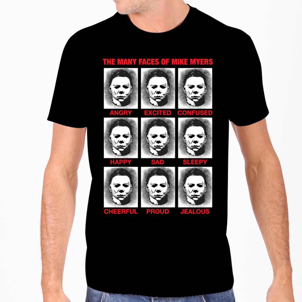 Faces of Michael Myers Men's Tee