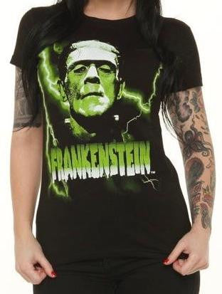 Bride of Frankenstein Eternal Love Lace Tie Top