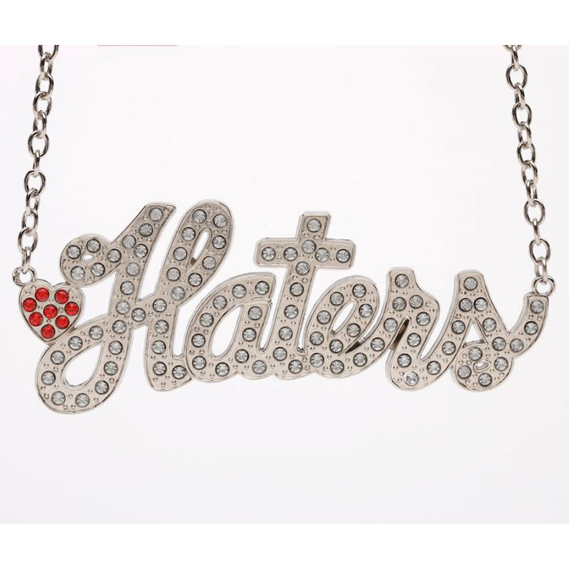 'Haters' Necklace by Rock Rebellion
