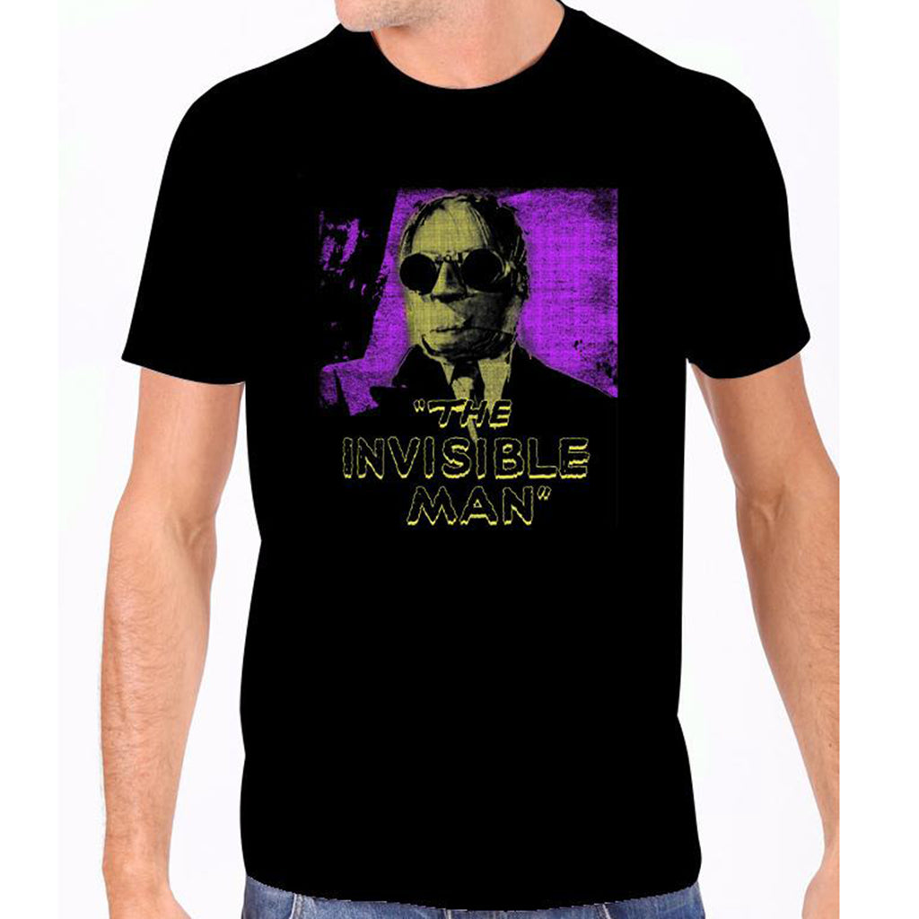 Invisible Man Glow In The Dark Men's Tee