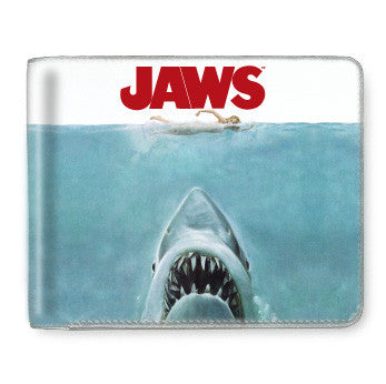Jaws Bi-Fold Wallet goth punk horror 70s spielberg halloween hot topic sourpuss