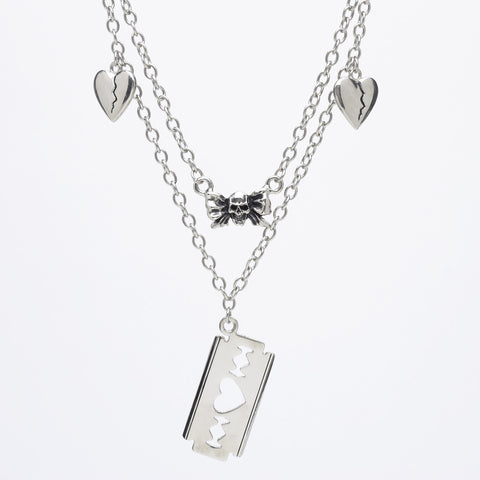 'Fake' Pendant Necklace by Rock Rebellion