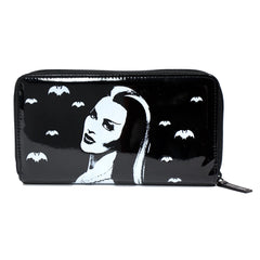 Lily Munster Bats Wallet the munsters rock rebel hot topic too fast sourpuss goth punk horror pinup glam accessories retro