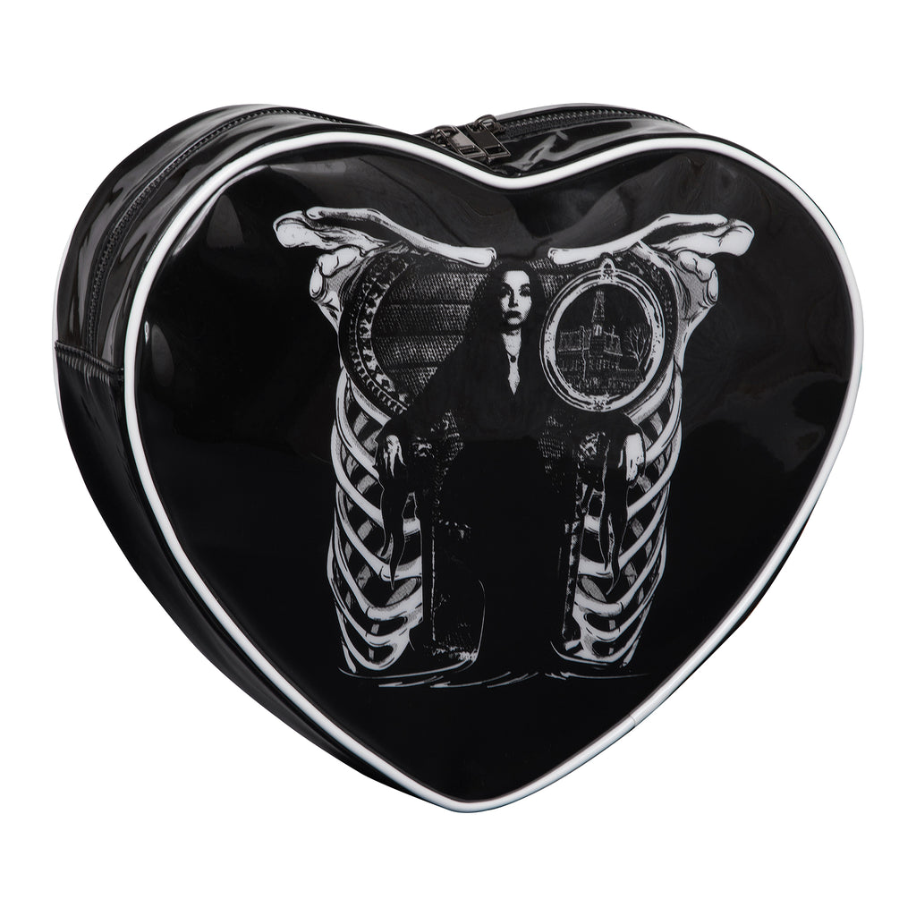 Morticia Heart Backpack
