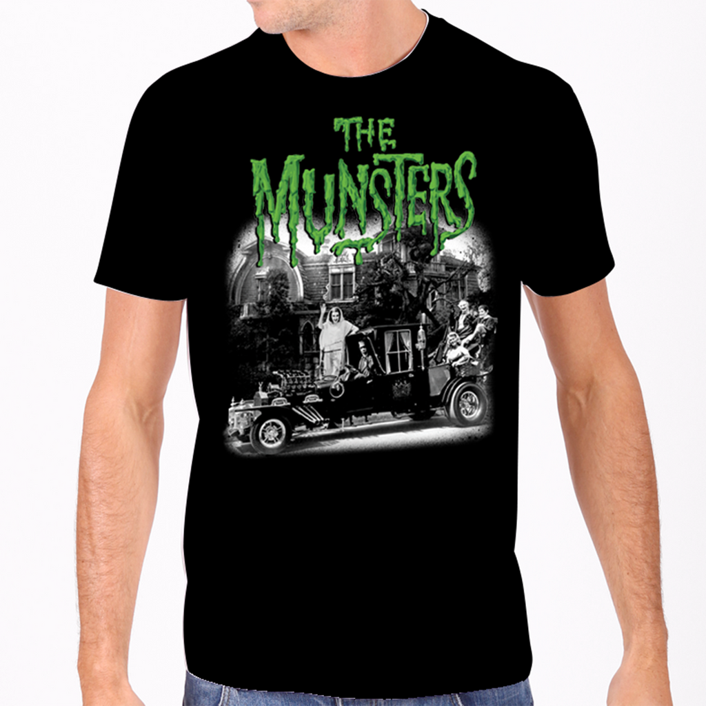 The Munsters' Family Coach Men's Tee