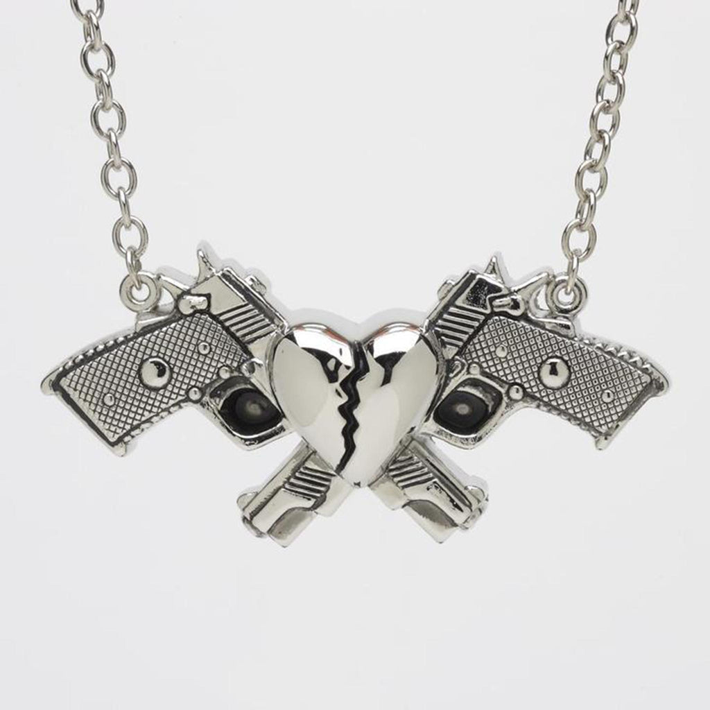 Broken Heart Guns Pendant