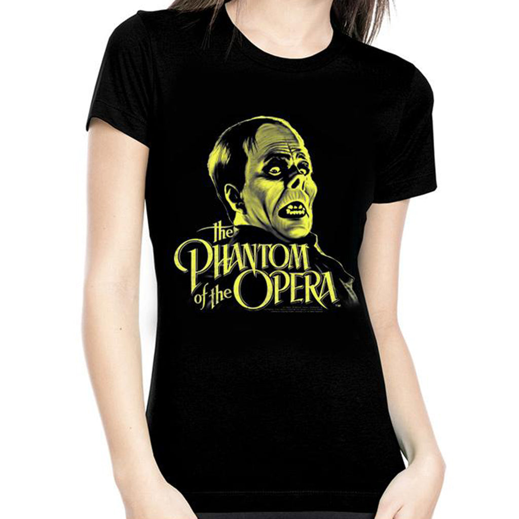 Phantom Of The Opera Glow In The Dark Women's Tee