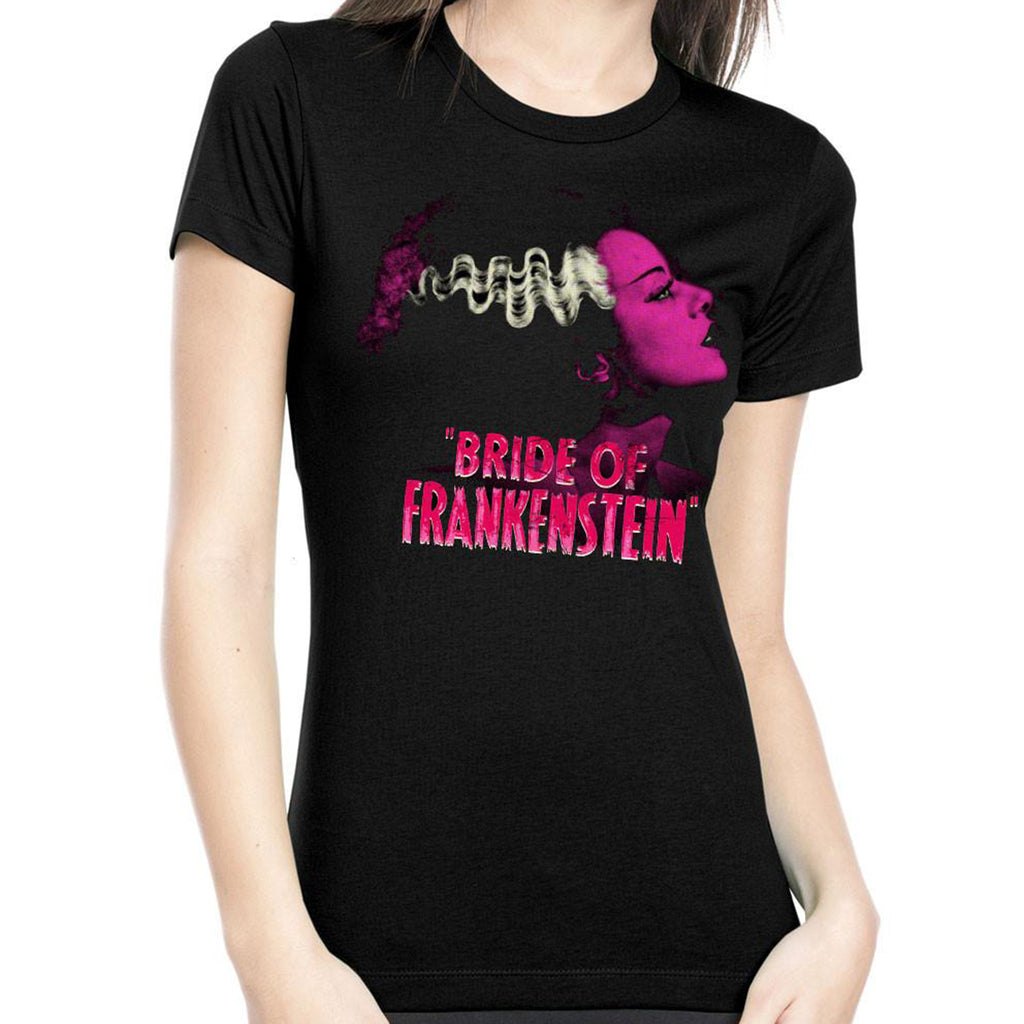 Pink Bride of Frankenstein Women's Tee