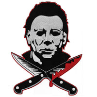 Large Michael Myers Knives Back Patch