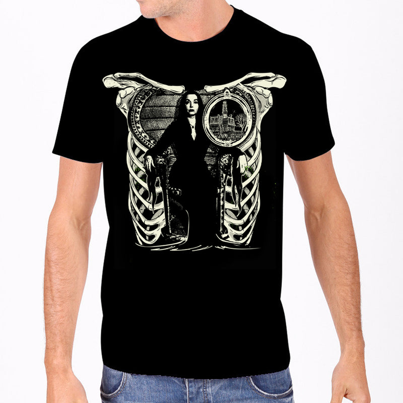 Morticia Addams Men's Tee