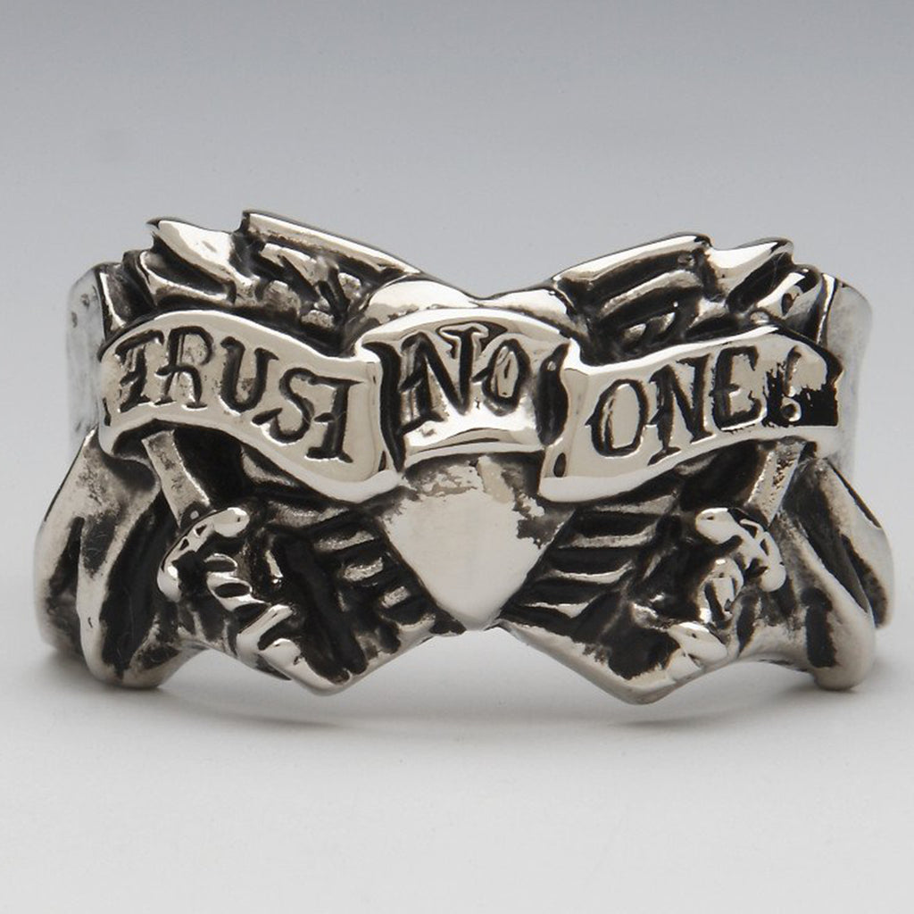 TRUST NO ONE RING