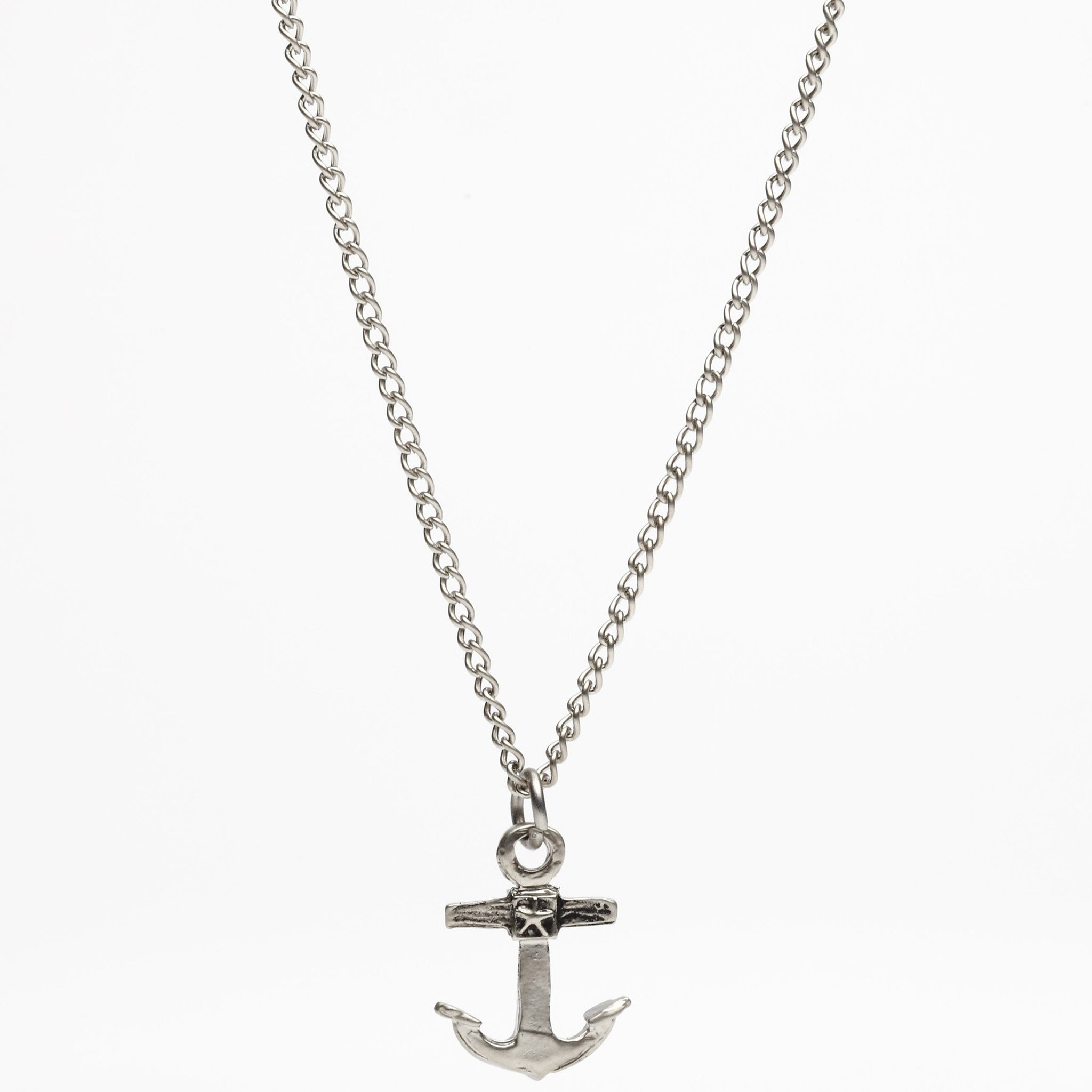 en anchor link cm chain necklace
