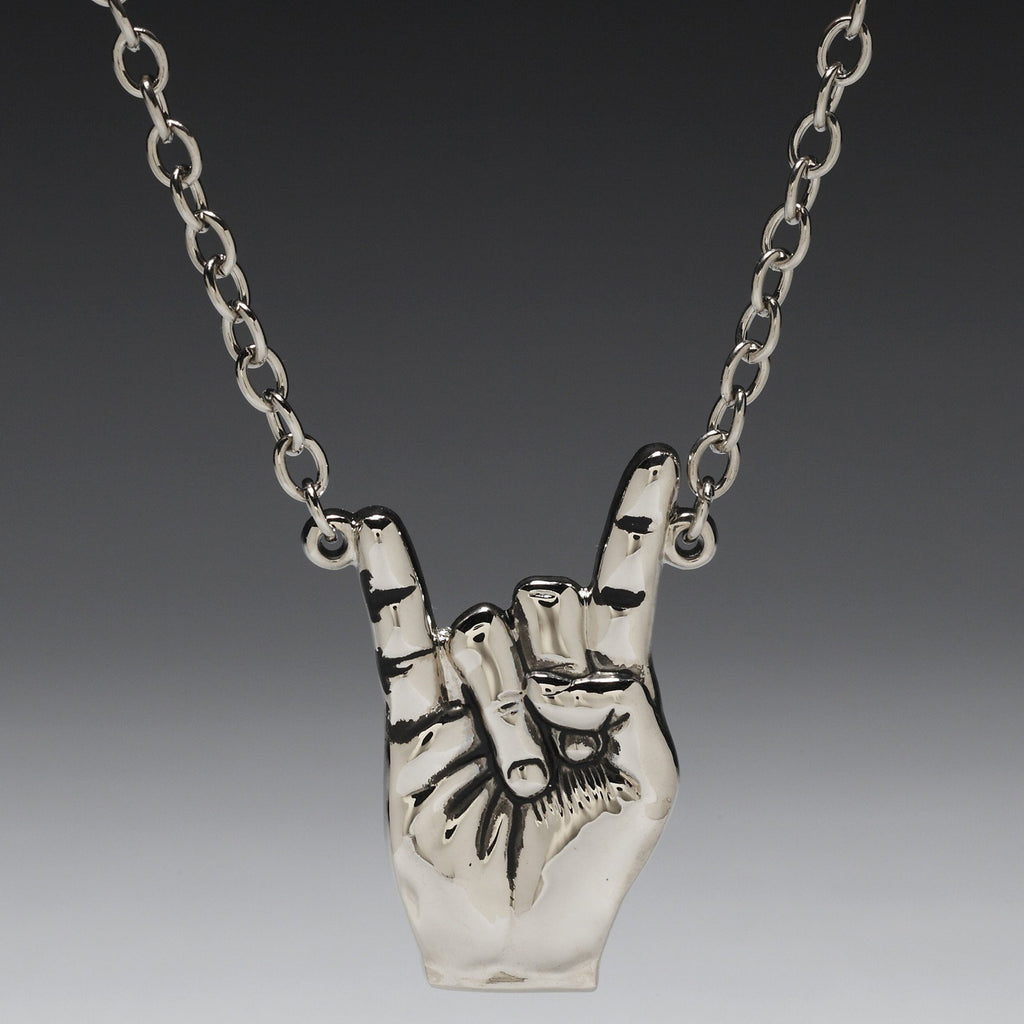 """Rock On!"" Pendant"