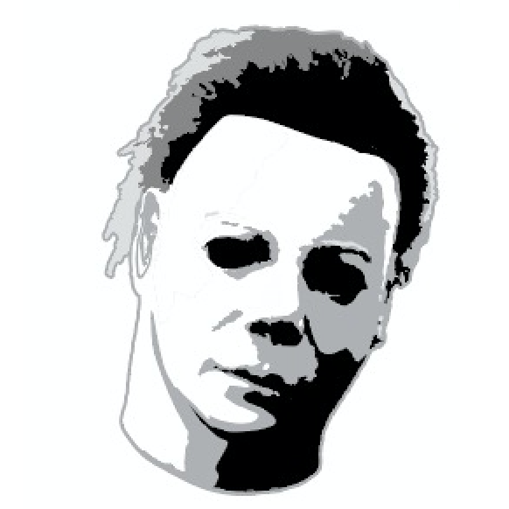 Michael Myers Head Enamel Pin