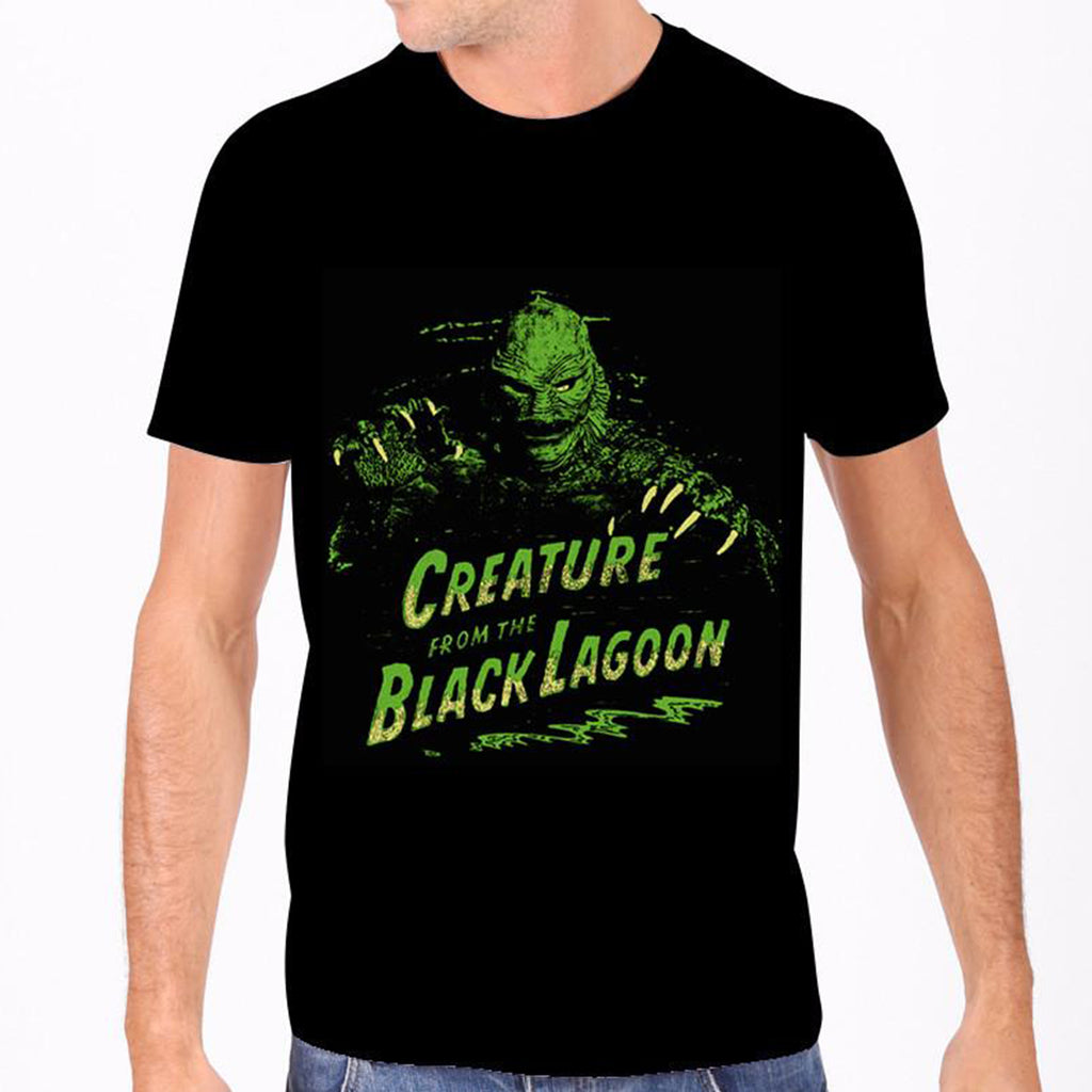 Green Creature From the Black Lagoon Men's Tee