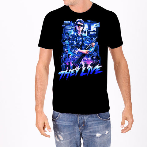 Green Bride of Frankenstein Men's Tee