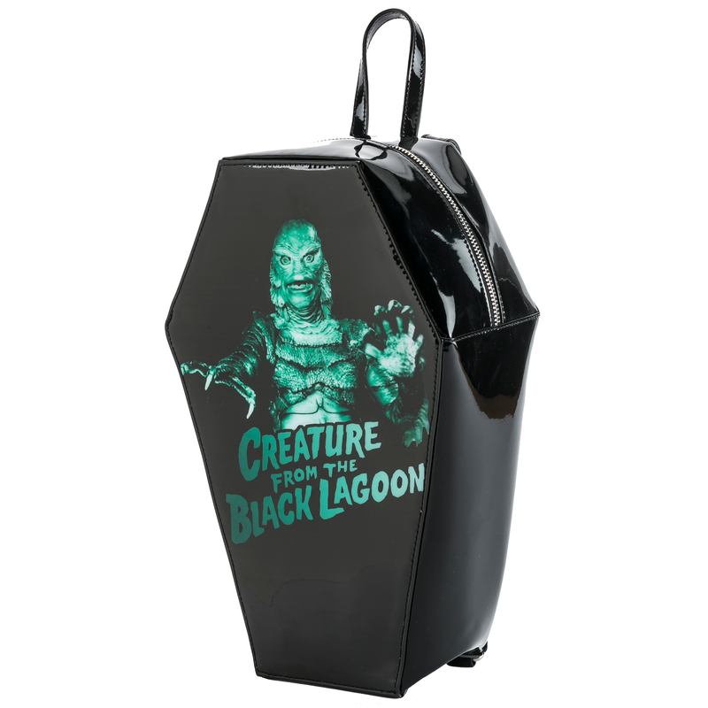 Creature From The Black Lagoon Coffin Backpack
