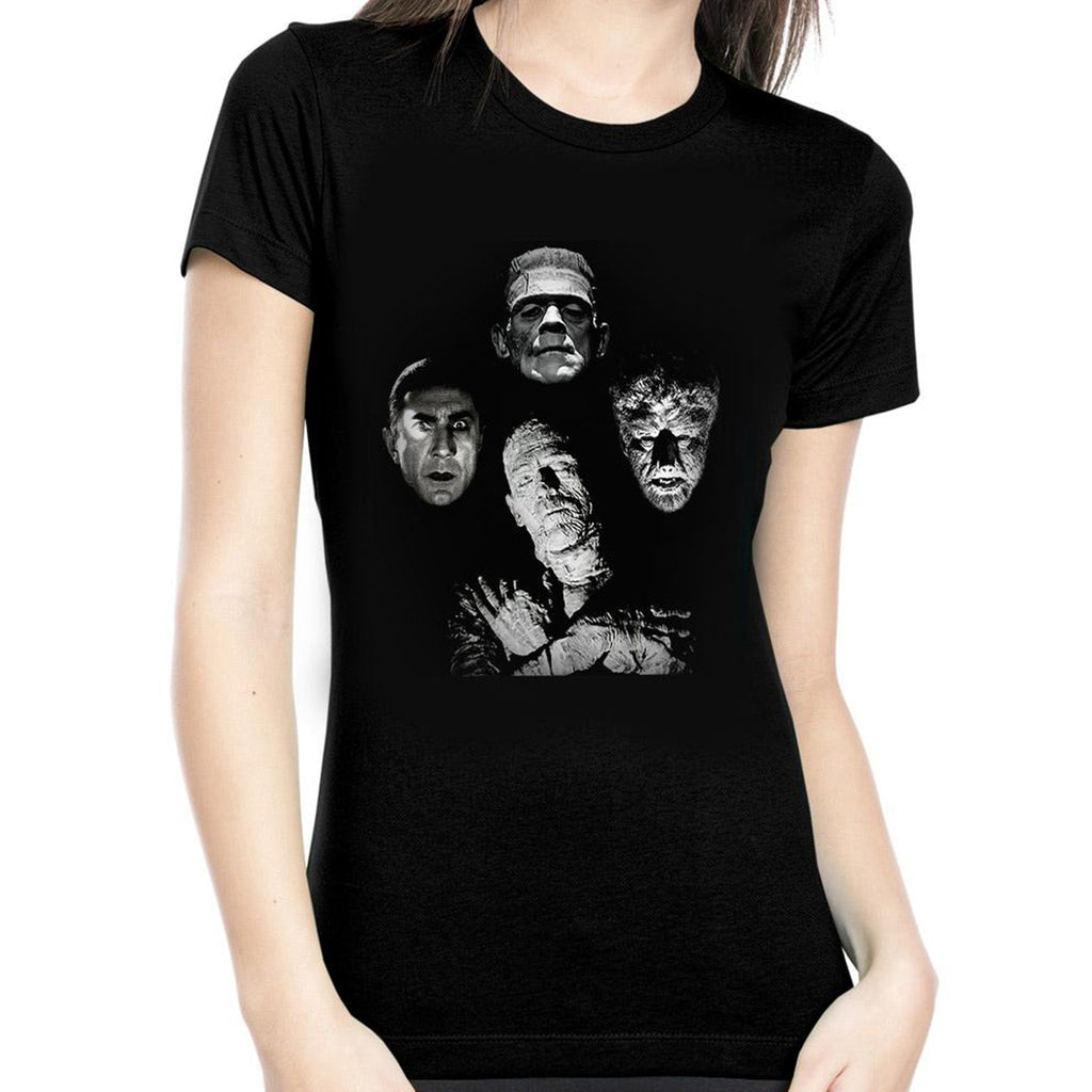 Monster Rock Band Women's Tee