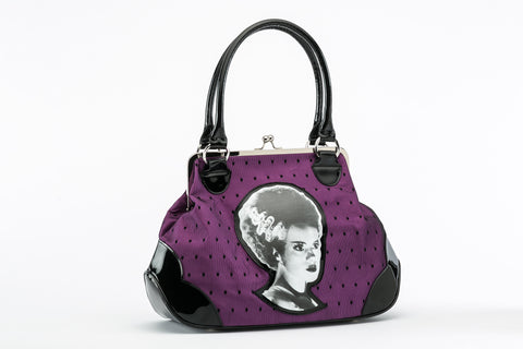 The Bride of Frankenstein Lace Handbag universal monsters rock rebel hot topic too fast sourpuss goth punk horror