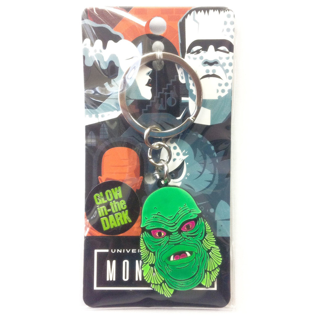 Creature From The Black Lagoon Enamel Keychain