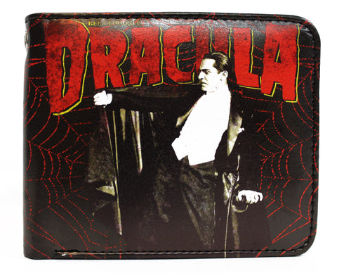 Dracula Web Billfold Wallet