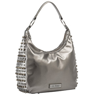 GG Rose Heavy Metal Hobo in Gunmetal