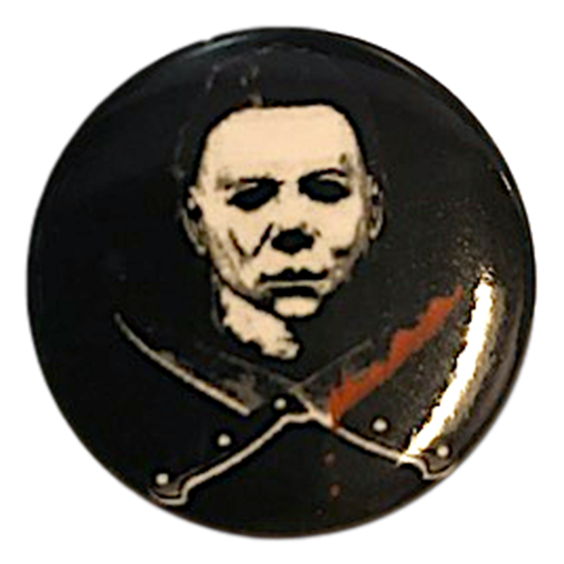 Micheal Myers Halloween II Button