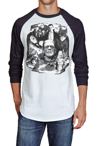 Universal Monsters Collage Women's Tee
