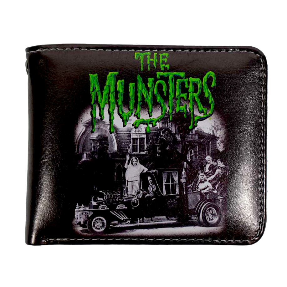 Munster Family Coach Billfold Wallet