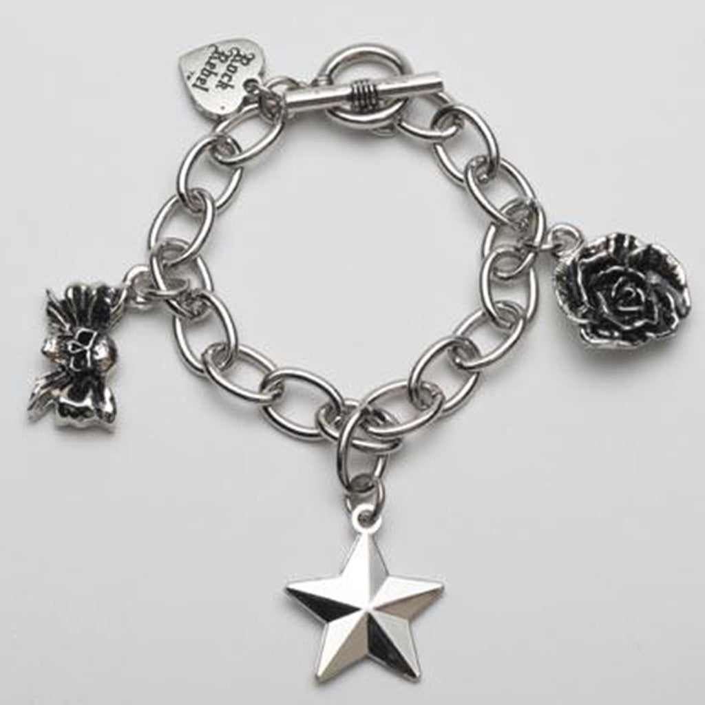 Sweet Stuff Skull and Rose Bracelet
