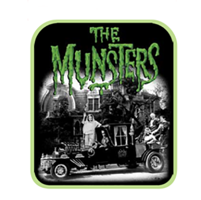 Munsters Family Zip Around Wallet