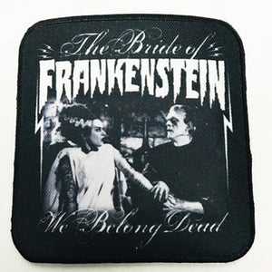 We Belong dead Bride of Frankenstein patch