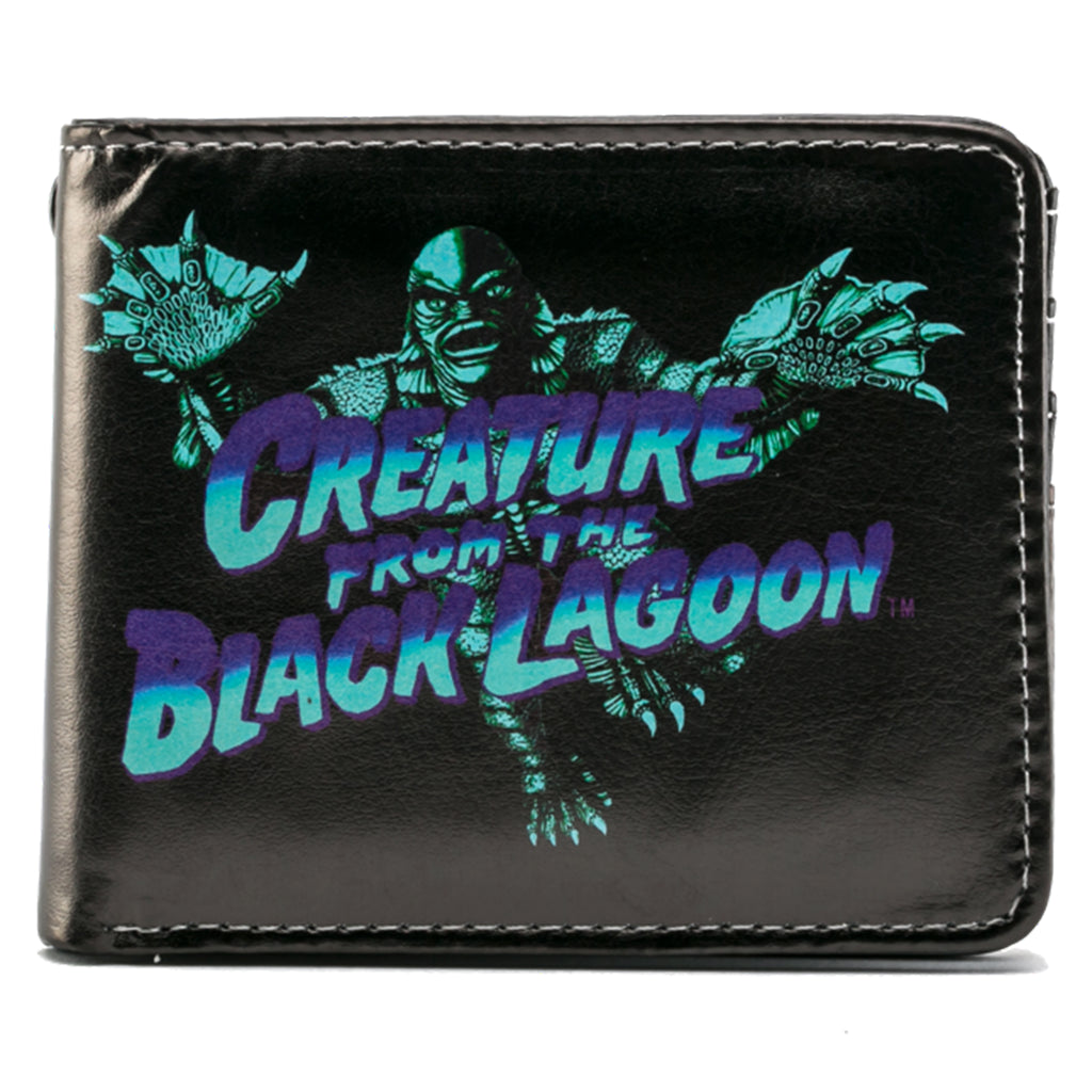 Blue Creature from the Black Lagoon Billfold Wallet