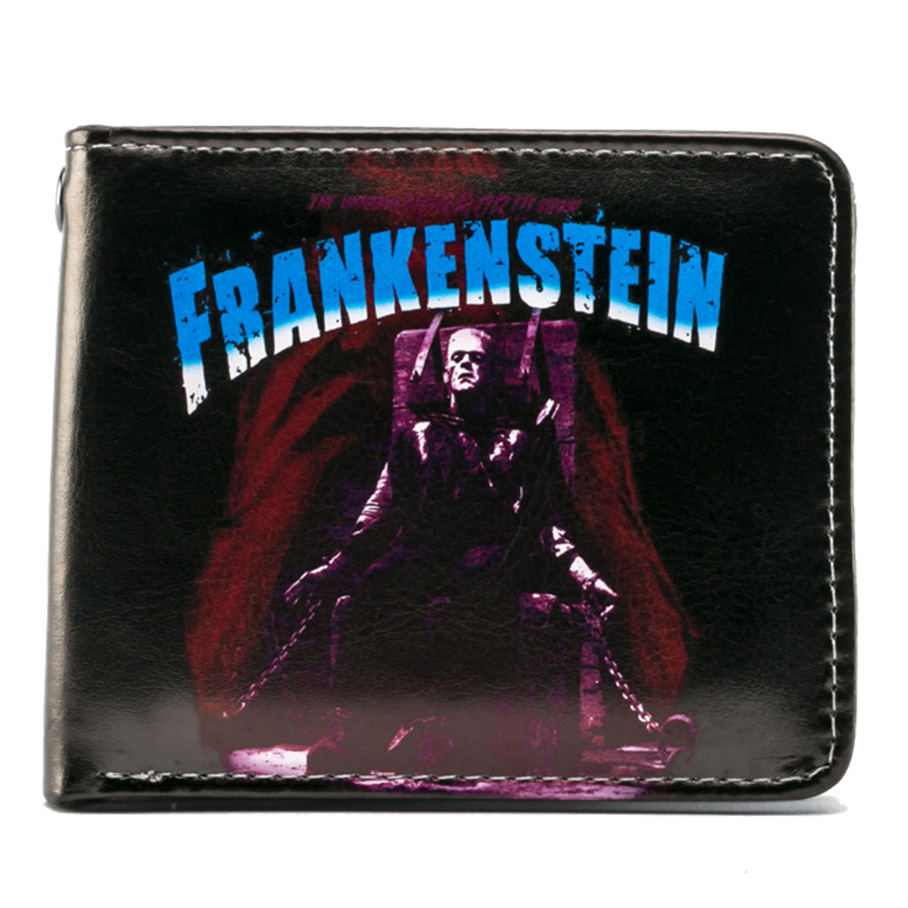 Purple Frankenstein Billfold Wallet