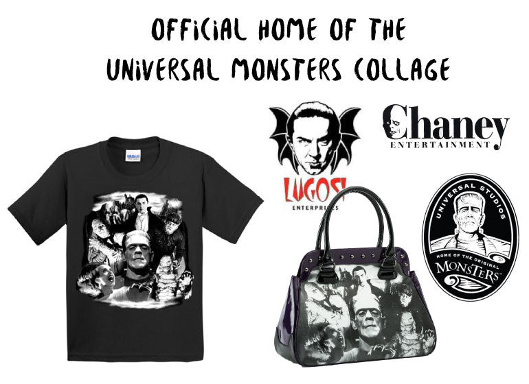 Universal Monsters Collage