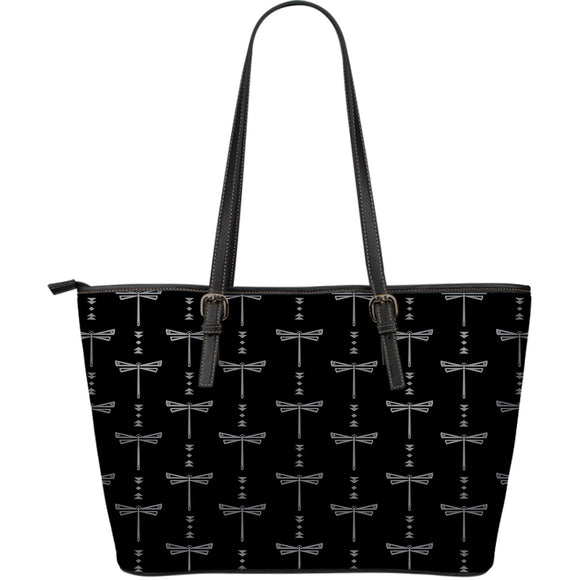 Tusweca Dragonfly Large Tote (silver)