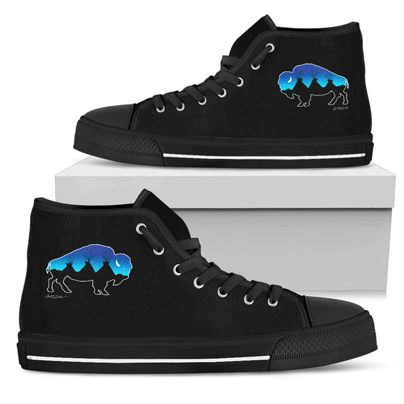 Men's Buffalo Tipi High Top Shoes - kili-creations