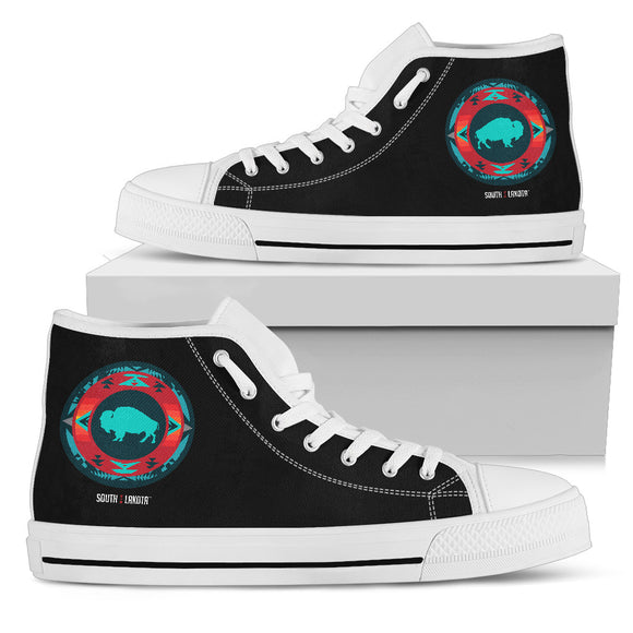 Women's Buffalo High Top Shoes - kili-creations