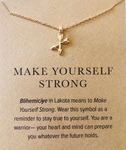 Make Yourself Strong Necklace