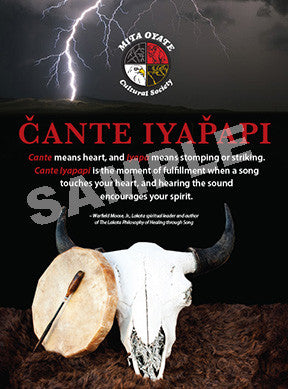 South Lakota Mita Oyate Poster