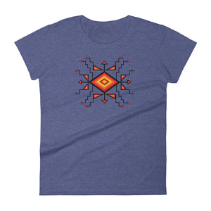 Sunburst Women's short sleeve t-shirt - kili-creations