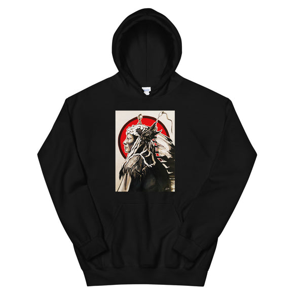 ARTIST COLLECTION: Rain In The Face Mens Hoodie